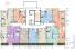 ЖК Таировские сады / Дом №2 / Секция 7 / План 2-го этажа