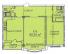 Двухкомнатная - ЖК Дом на Еврейской, 3 (Чайная фабрика Будова)ПроданаПлощадь:80,5m²
