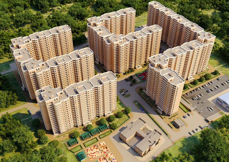 ЖК Реал Парк Стикон квартира в Одессе Визуализация застройки