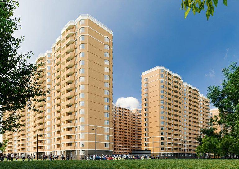 ЖК Реал Парк Стикон квартира в Одессе Визуализация комплекса