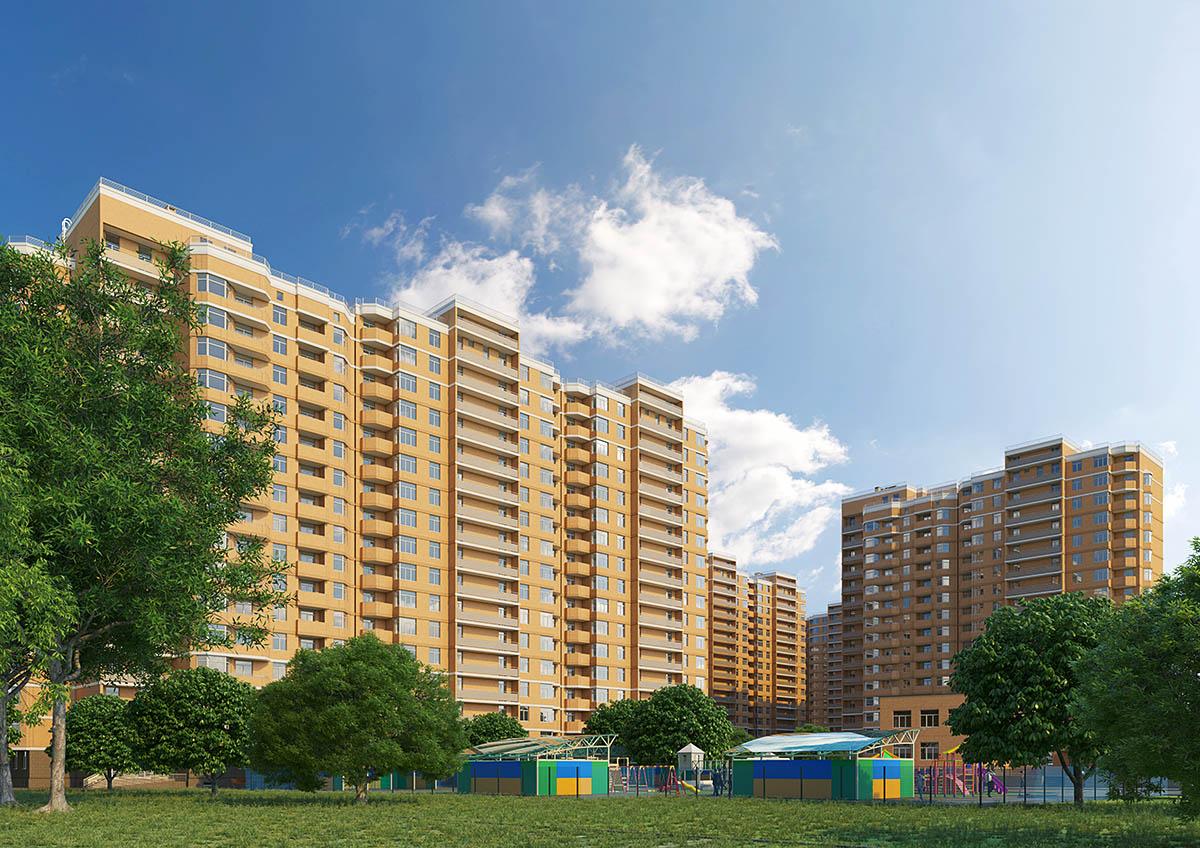 ЖК Реал Парк Стикон квартира в Одессе Визуализация