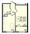 Однокомнатная - ЖК 30 ЖемчужинаПроданаПлощадь:41m²