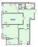 Трехкомнатная - ЖК 40 и 41 ЖемчужиныПроданаПлощадь:81,60m²