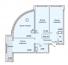 Трехкомнатная - ЖК 35 Жемчужина (Тридцать пятая)ПроданаПлощадь:95,25m²