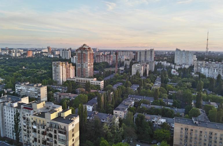 ЖК Французский бульвар Стикон Однокомнатная 35,8 Вид из квартиры