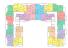 ЖК Мариинский / План 2-4 этажей