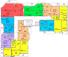 ЖК Мариинский / Секция А / План 2-7 этажей