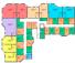 ЖК Мариинский / Секция А / План цокольного этажа