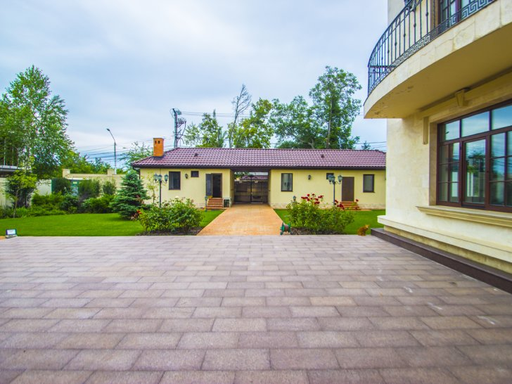 Клубный дом Лион Lion Квартира в Одессе Фото придомовой территории