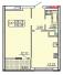 Однокомнатная - ЖК 20 ЖемчужинаПроданаПлощадь:41m²