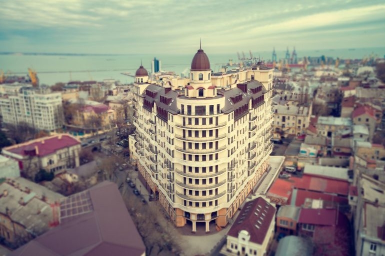 Наследие Дерибаса Фото Визуализация комплекса Новострой в Одессе