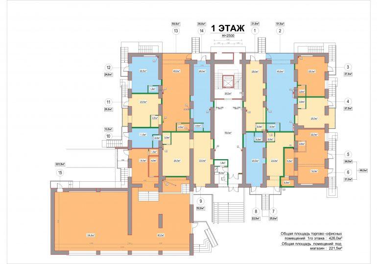 жк лузановский дом 1 этаж план этажа