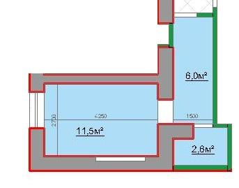 20,1 жк лузановский дом однокомнатная планировка квартиры