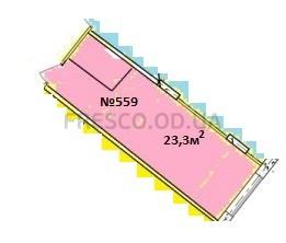 Однокомнатная - ЖК Club Marine 2 (Клаб Марин 2)ПроданаПлощадь:23,3m²