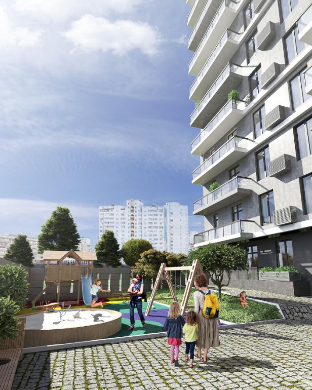 ЖК Platinum Residence визуализация 3