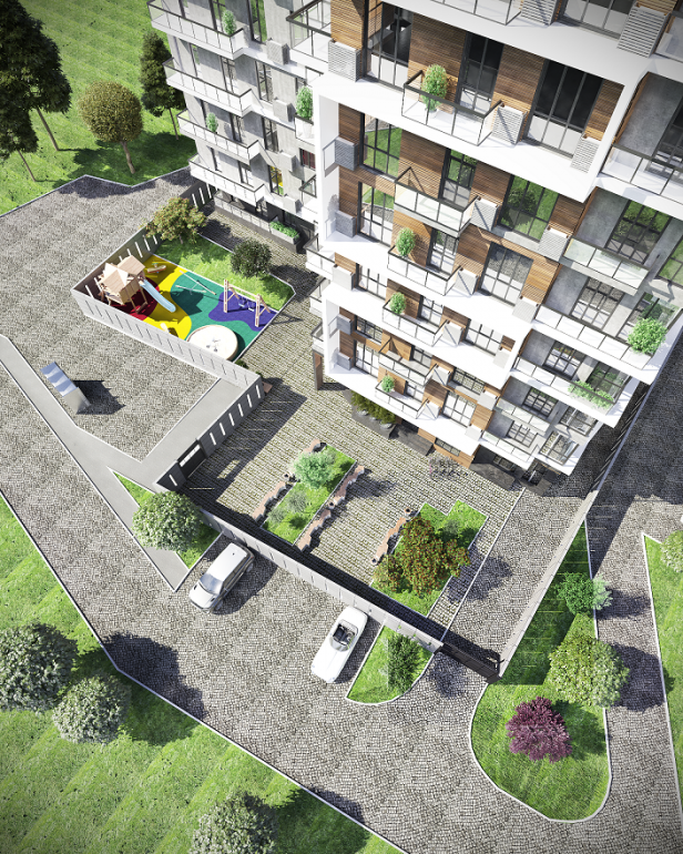 ЖК Platinum Residence визуализация 4