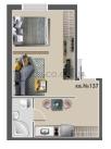 Однокомнатная - ЖК Андриевский$20900Площадь:29,3m²