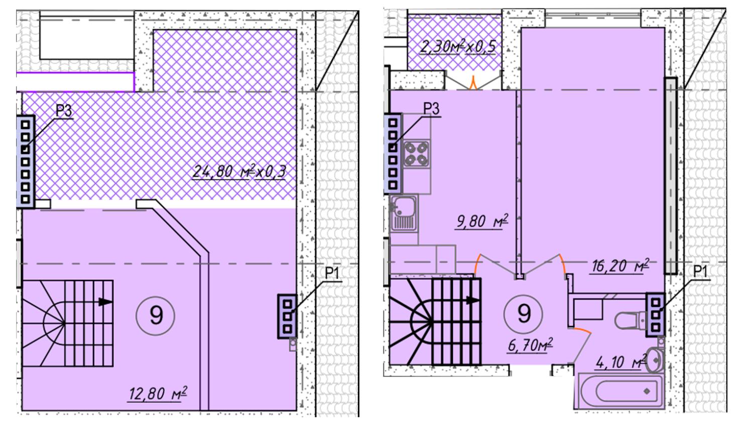 Однокомнатная - ЖК Club Marine 2 (Клаб Марин 2)ПроданаПлощадь:58,1m²