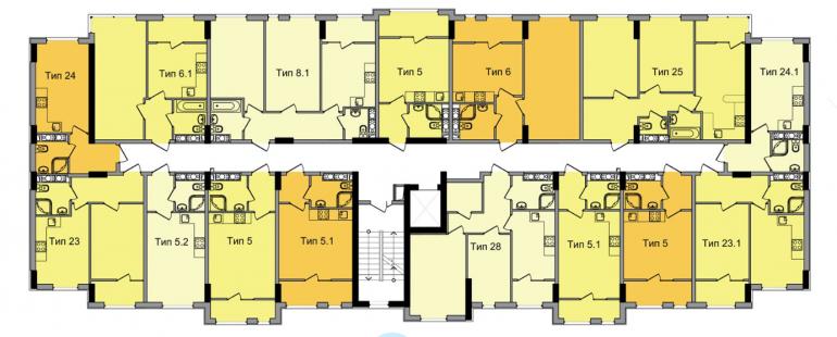ЖК ArtVille (АртВилль) дом 4 план 3-го этажа