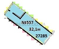 Однокомнатная - ЖК Club Marine 2 (Клаб Марин 2)ПроданаПлощадь:32,1m²