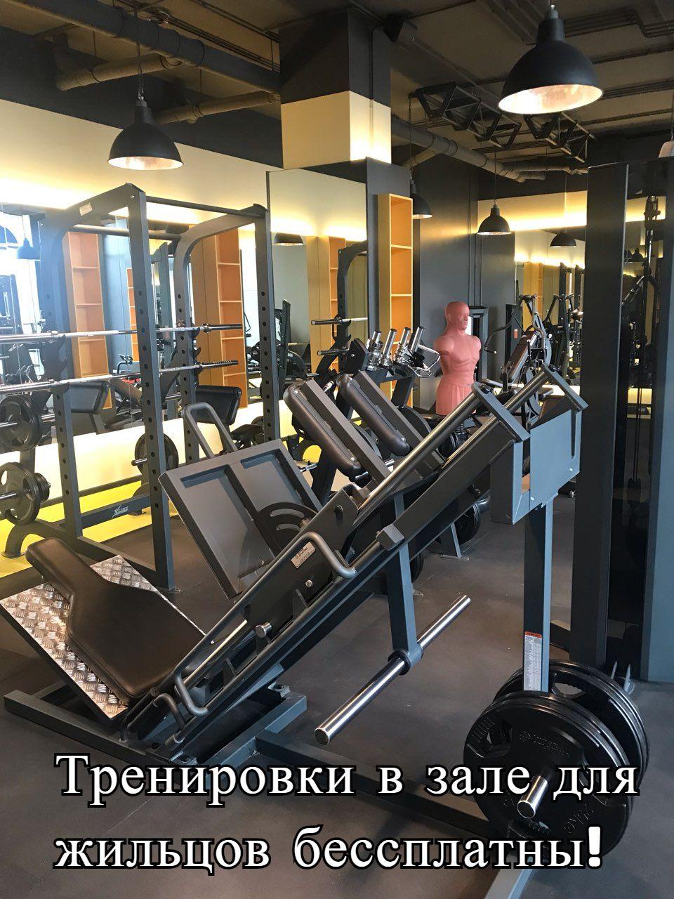 башня Чкалов 2019 спортзал