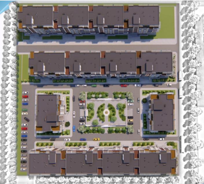 ЖК SMART CITY (Смарт Сити) план застройки
