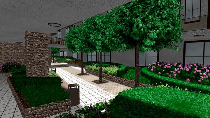 ЖК Garden House Repino галерея 3