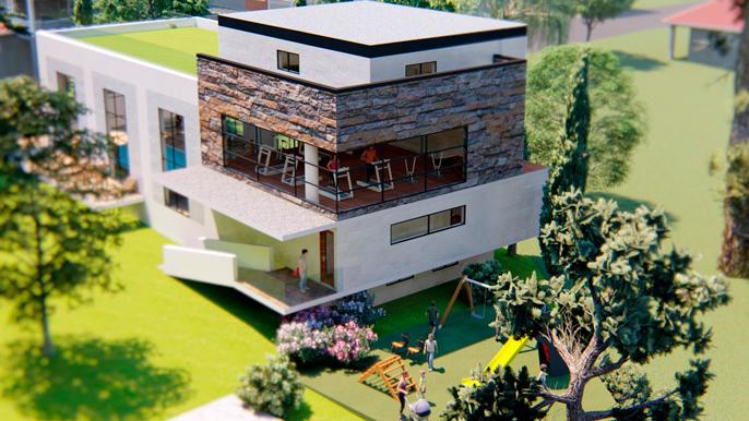 ЖК Garden House Repino галерея 2