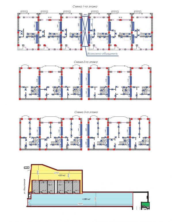 Таунхаусы Senator Club Residence (Сенатор Клаб Резиденс) типовые планировки