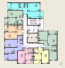 ЖК Одесские традиции 4 дом 2 секция план типового этажа