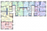 Клубный дом «Малый Марсель-2» план 1-3 этажа