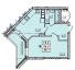 Однокомнатная - ЖК RealPark (Реал Парк)$25938Площадь:39,3m²