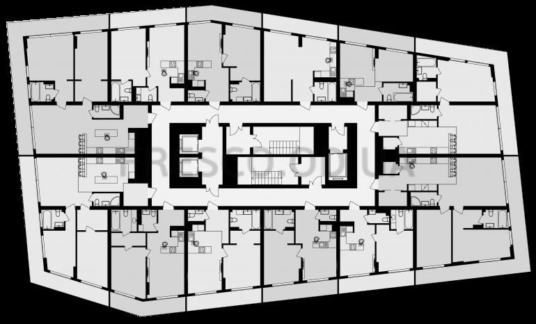 Art Kvartal City Space типовой план этажа