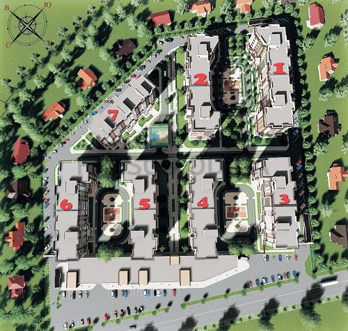 ЖК Розенталь (RosenTal ) план