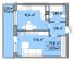 Однокомнатная - ЖК Акварель 3 на Пишоновской$27835Площадь:40,34m²