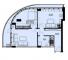 Двухкомнатная - ЖК Unity Towers (Юнити Тауэрс)$132782Площадь:92,21m²