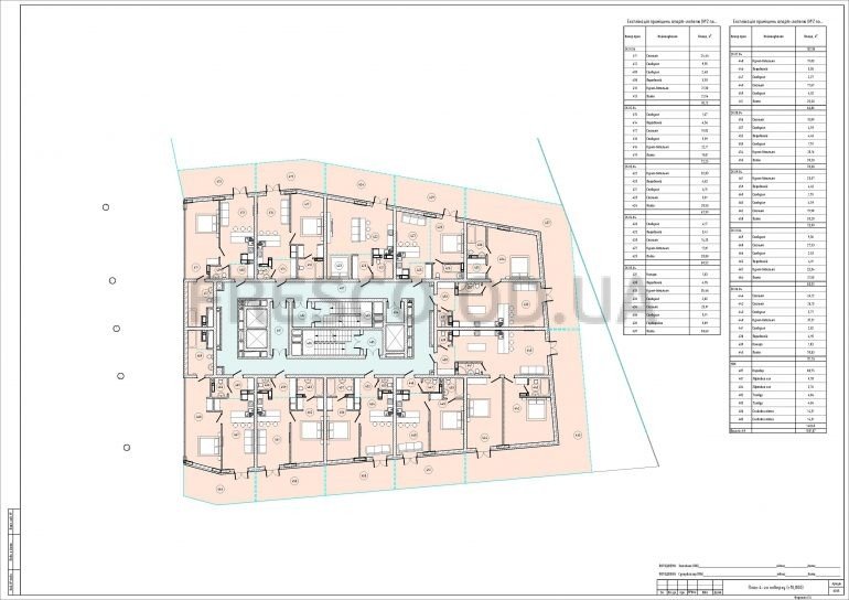 ЖК Арт Квартал (ART KVARTAL City Space) Дом 2 план 4 этажа