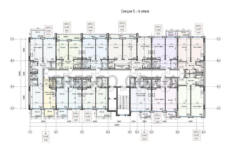 Пространство на Донского 2 Дом 5 секция 6 этаж