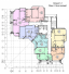 ЖК RealPark (Реал Парк) план секции 1.3 этаж 2-16