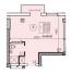 Однокомнатная - ЖК Apart Royal на ул. Малая Арнаутская, 71$48860Площадь:34,9m²