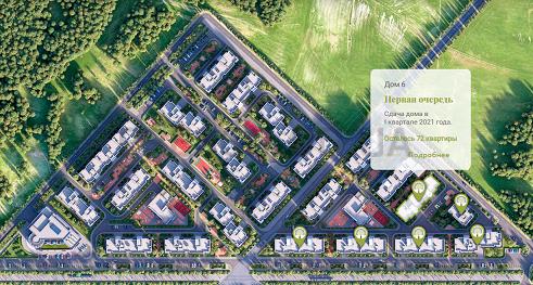 ЖК Парк Совиньон план 6 дом