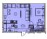 Однокомнатная - ЖК Arcadia Sky (Аркадия Скай)$70440Площадь:58,7m²