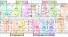 ЖК Акварель-7 план типового этажа 2 секции