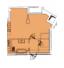 Однокомнатная - ЖК Aston Hall$153000Площадь:51m²